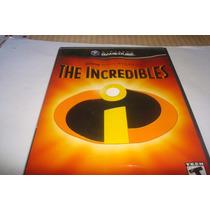 Nintendo Gamecube The Incredibles Original Com Manual