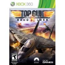 Top Gun: Hard Lock - Xbox 360 - Aviao - Lacrado - Ottogames