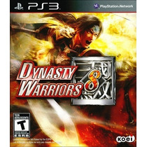 Dynasty Warriors 8 - Ps3 [novo E Lacrado]