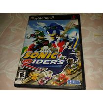 Sonic Riders Original Completo Americano Ps2