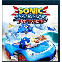 Sonic & All-stars Racing Transformed Ps3 Jogos Codigo Psn
