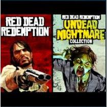 Red Dead Redemption And Undead Nightmar Ps3 Jogos Codigo Psn