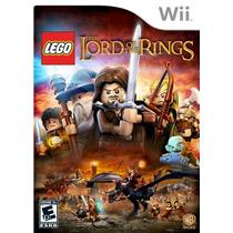 Lego Lord Of The Rings- Nintendo Wii- Lacrado- Pronta Entreg