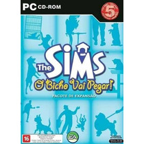 Game Pc The Sims O Bicho Vai Pegar - Original | Novo