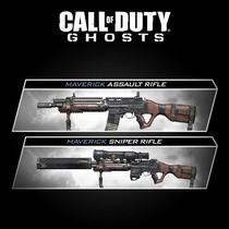 Dlc Armas - Ripper + Maverick - Ghosts Ps3 Artgames Digitais
