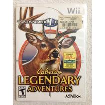 Jogo Nintendo Wii: Cabelas Legendary Adventures - Eua!