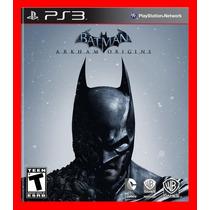 Batman Arkham Origins - Ps3 Codigo Psn Pronta Entrega