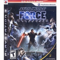 Star Wars The Force Unleashed 1 Gratest Hits - Ps3, M Física