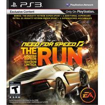 Need For Speed The Run Playstation 3 Mídia Física Ps3
