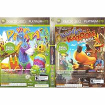 Banjo Kazooie Nuts And Bolts + Viva Piñata- 2 Jogos Xbox 360