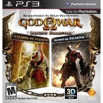 God Of War Origins Collection- Ps3 Via Card Psn