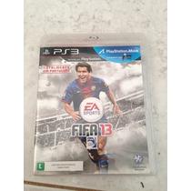 Jogo Original Ps3 Fifa 2013 Apenas 35,00