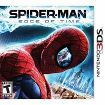 Jogo Homem Aranha Spiderman Edge Of Time Nintendo 3ds Ds 2ds