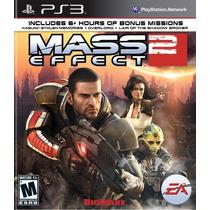 Mass Effect 2 Ps3 Região 1 Americano Lacrado