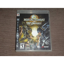 Mortal Kombat Vs Dc Universe ( Jogo Original Ps3 )