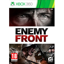Enemy Front Xbox 360 Original Novo