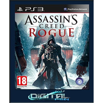 Assassins Creed Rogue Pré-venda 18/11 Ps3 Código Psn