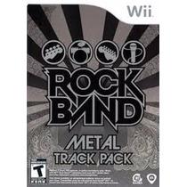 Rock Band Metal Track Pack - Nintendo Wii (novo-lacrado)