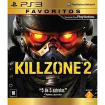 Jogo Ps3 Killzone 2 Favoritos - Webfones