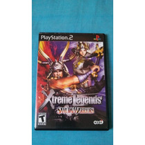 Jogo Play2 Original - Samurai Warriors Xtreme Legends