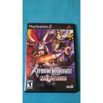 Jogo Samurai Warriors Xtreme Legends - Ps2 - Original