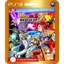 Dragon Ball Z Battle Of Z (código Ps3)