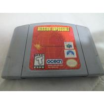 Mission Impossible Original Americano N64 Sem Caixa