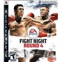 Fight Night Round 4 Ps3 Novo Lacrado Pronta Entrega