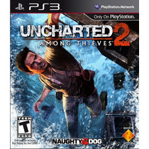 Uncharted 2 Among Thieves Frete Grátis Jogo Ps3 Sdgames