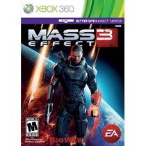 Mass Effect 3 - Xbox 360 - Lacrado - Pronta Entrega - Leilão