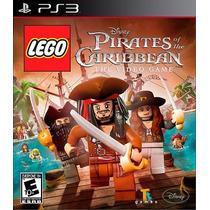 Jogo Lego Piratas Of The Caribbean Mídia Física Original Ps3