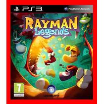 Rayman Legends Ps3 Psn - Dublado Em Portugues Br - Promocao!