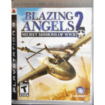 Ps3 - Blazing Angels 2 Secret Missions Ww Ii - Midia Bluray