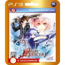 Lançamento! Fairy Fencer F (código Ps3)