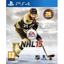 Nhl 15 Ps4 Primaria (conta Psn) Rafa Gamer!