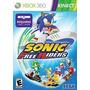 Sonic Free Riders Xbox 360 Mídia Física Lacrado