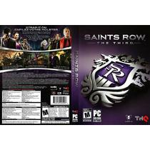 Jogo Original P/ Pc Saints Row The Third Novo Lacrado
