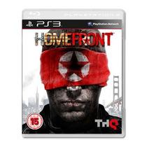 Homefront - Jogo De Tiro Fps Guerra Playstation 3 -semi Novo