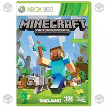 Minecraft Xbox 360 Original Novo - Lacrado - Português
