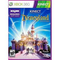 Xbox360: Kinect Disneyland Adventures - Jogo Original Novo