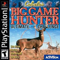 Cabelas Big Game Hunter - Playstation 1 - Frete Gratis.