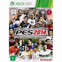 Super Game Pes 2014 Xbox 360 Novo Lacrado Frete Grátis