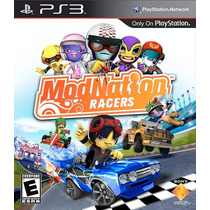 Modnation Racers + Need Speed Hot Pursuit - Ps3 Artgames Psn