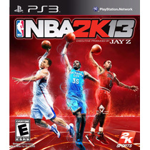 Ps3 - Nba 2k13 Original - Mídia Física