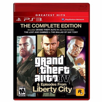 Jogo Para Ps3 Grand Theft Auto Iv Original Lacrado