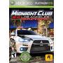 Jogo Original Xbox 360 Midnight Club+dlc Frete 10r$