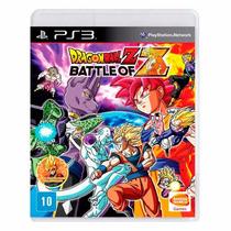 Dragon Ball Z Battle Of Z Ps3 Pt Br Mídia Física + Brinde