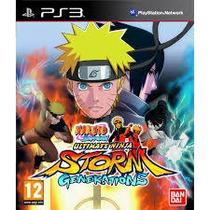 Naruto Shippuden Ultimate Ninja Storm Generations { Ps3 }