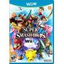 Jogo Super Smash Bros Americano Nintendo Wii U 100% Lacrado