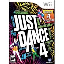 Just Dance 4 (versão Em Português) Wii Ubi